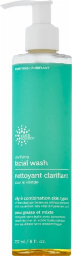 Earth Science Clarifying Facial Wash Perspective: front