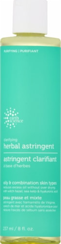 Earth Science Clarifying Herbal Astringent Perspective: front