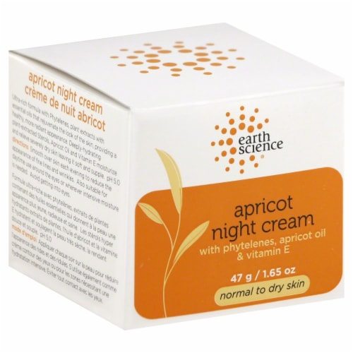 Earth Science Apricot Night Cream Perspective: front