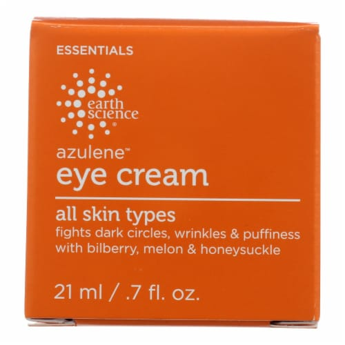 Earth Science Azulene Eye Cream Perspective: front