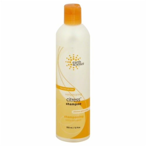 Earth Science Pure Essential's Citrus Shampoo Perspective: front