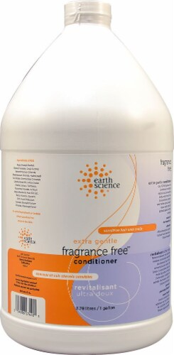 Earth Science Extra Gentle Fragrance Free Conditioner Perspective: front