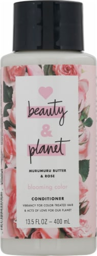Love Beauty and Planet Blooming Color Murumuru Butter & Rose Conditioner Perspective: front
