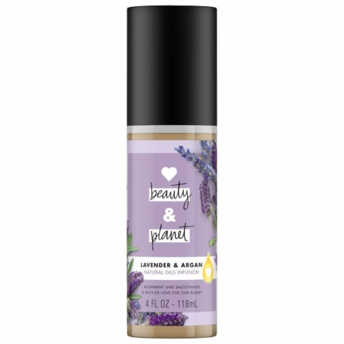Love Beauty and Planet Lavender & Argan Oils Styling Aid Perspective: front