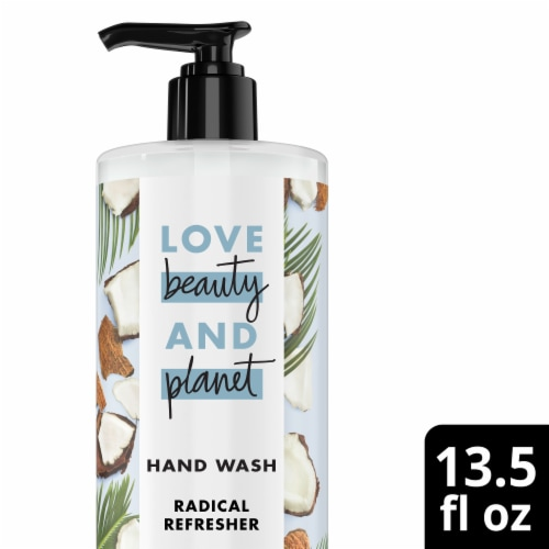 Love Beauty and Planet Coconut Water & Mimosa Flower Hand Wash Perspective: front