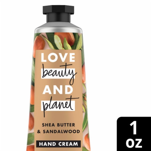 Love Beauty & Planet Hand Cream Shea & Sandalwood Perspective: front
