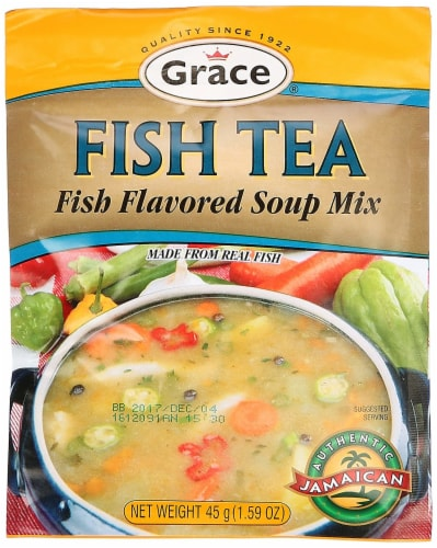 Grace Fish Tea Soup Mix Perspective: front