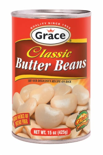 Grace Classic Butter Beans Perspective: front