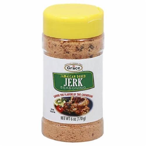 Grace Dry Jerk Seasoning Perspective: front