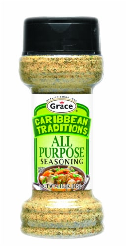 Caribbean Traditions All Purpose Seasoning Perspective: front