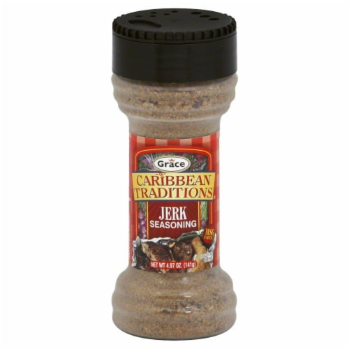 Caribbean Traditions Grace Dried Jerk Seasoning Perspective: front