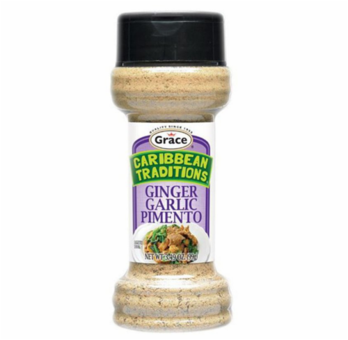 Caribbean Traditions Ginger Garlic Pimento Perspective: front