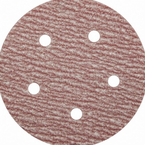 Sim Supply Hook-and-Loop Sanding Disc,5  dia.,PK100  05539520305 Perspective: front