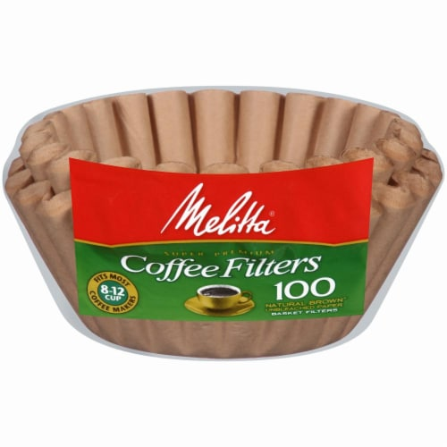Melitta Basket Coffee Filters Perspective: front