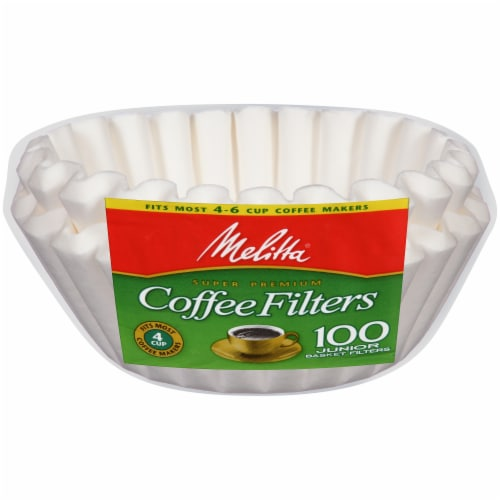 Mellita Junior Basket Coffee Filters Perspective: front