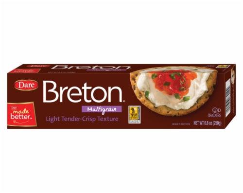 Breton® Multigrain Crackers Perspective: front