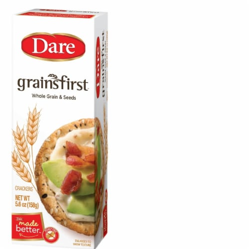 Dare Grainsfirst Crackers Perspective: front