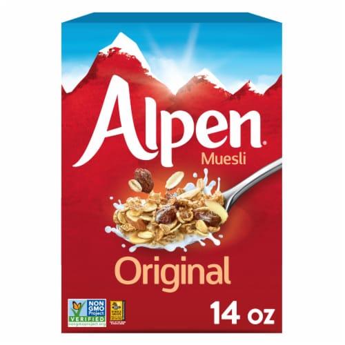 Alpen Original Muesli Cereal Perspective: front