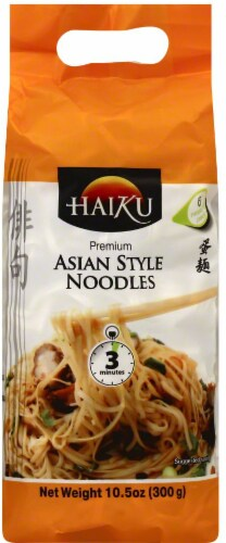 Haiku Asian Style Noodles Perspective: front