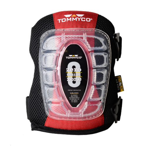 Tommyco T-Foam Cushion Cap Kneepads - Black Perspective: front