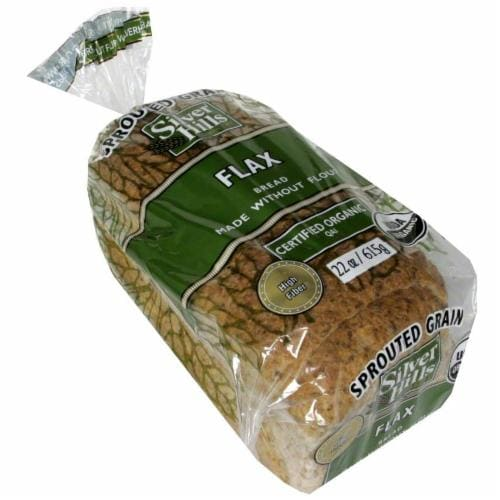 Silver Hills Bread Flax Bread Perspective: front