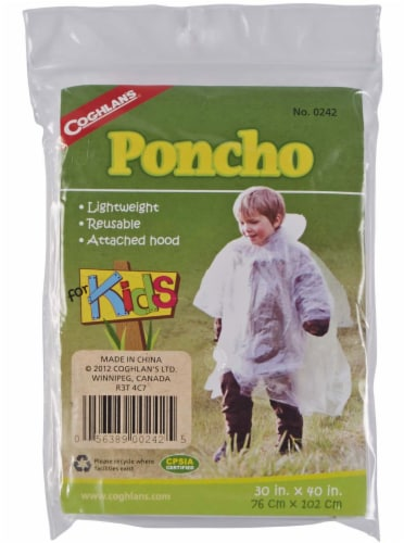 Coghlan's For Kids Poncho Perspective: front