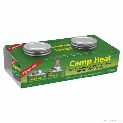 Coghlan's Camp Heat Twin Pack - Silver Perspective: front
