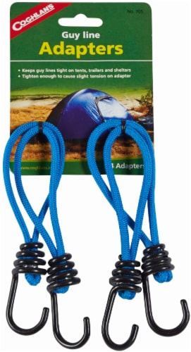 Coghlan's Guy Line Adapters - Blue Perspective: front