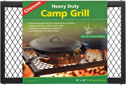 Coghlan's Heavy Duty Camp Grill Perspective: front