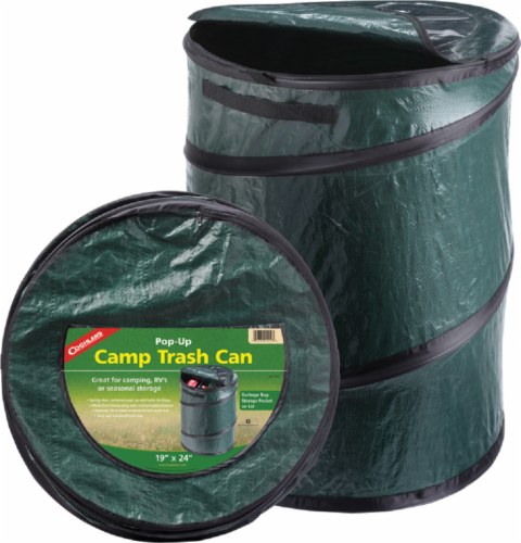 Coghlan's Pop-Up Camp Trash Can Perspective: front
