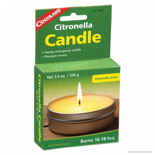 Coghlan's Citronella Candle Perspective: front