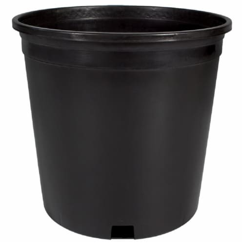 The HC Companies Nursery Container - Black Perspective: front
