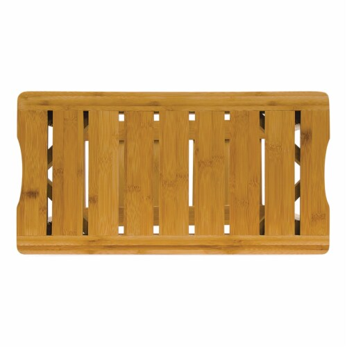 BIOS Living 60058 Bamboo Shower Bench Perspective: front