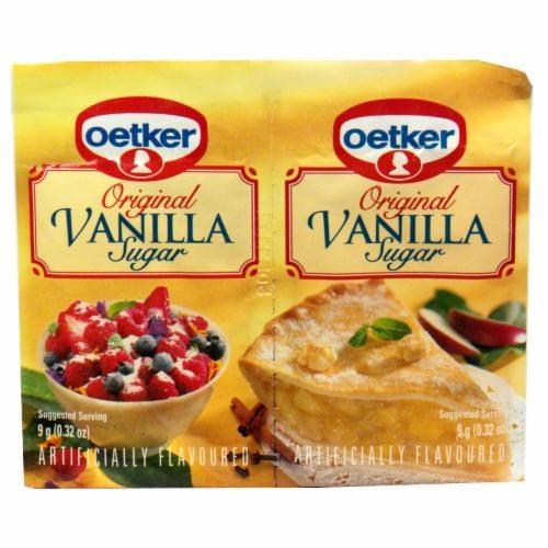 Dr. Oetker Original Vanilla Sugar Perspective: front