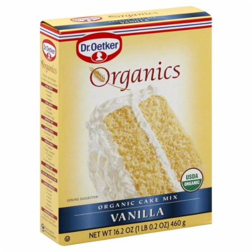 Dr. Oetker Organics Vanilla Cake Mix Perspective: front