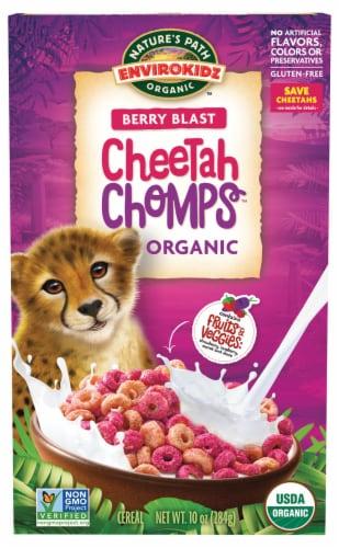Nature's Path Organic Envirokidz Berry Blast Cheetah Chomps Organic Cereal Perspective: front