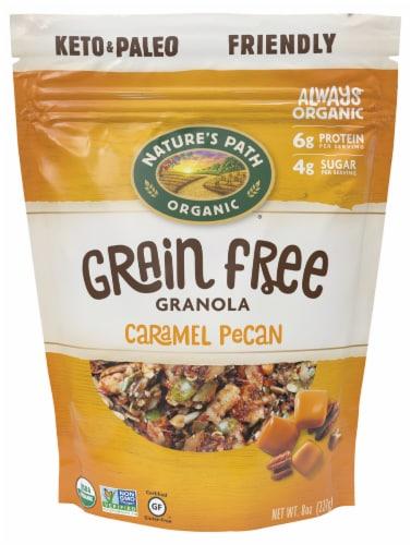 Nature's Path Organic Caramel Pecan Grain Free Granola Perspective: front
