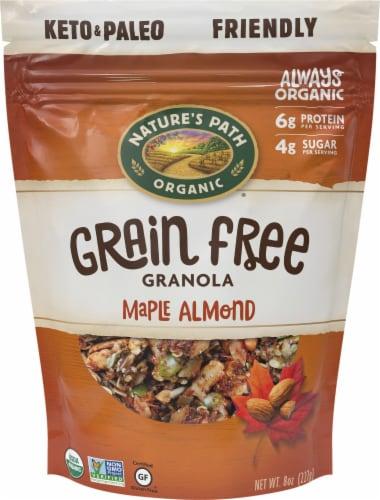 Nature's Path Organic Maple Almond Grain Free Granola Perspective: front
