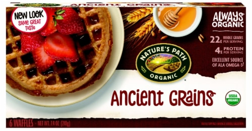 Nature's Path Ancient Grains Waffles Perspective: front