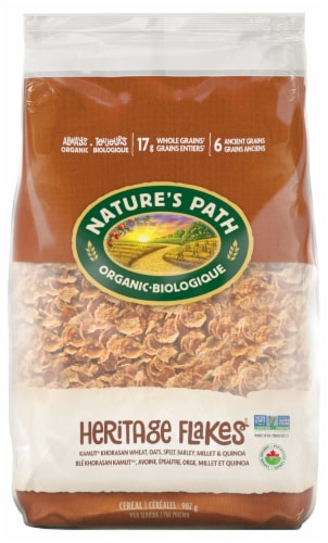 Nature's Path Organic Heritage Flakes Cereal Perspective: front