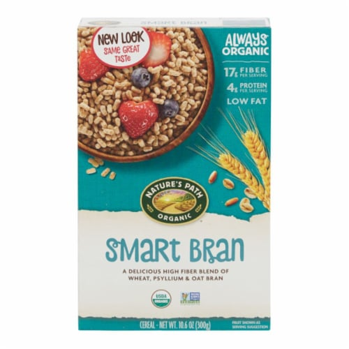 Nature's Path Organic Smart Bran Cereal Perspective: front