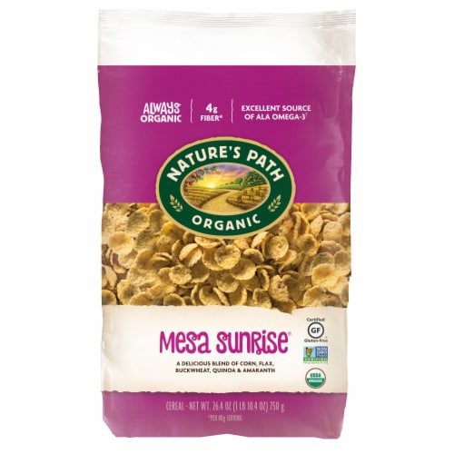 Nature's Path Organic Mesa Sunrise Flakes Cereal Perspective: front