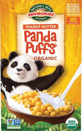 Nature's Path Organic EnviroKidz Peanut Butter Panda Puffs Cereal Perspective: front