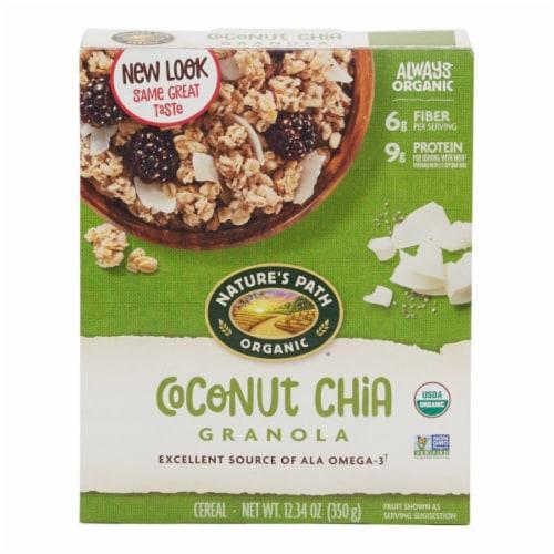 Nature's Path Organic Coconut Chia Granola Perspective: front