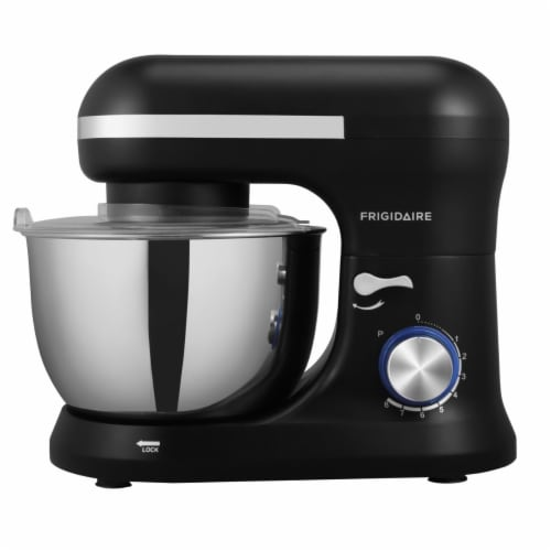 Curtis ESTM020-Black 4.5 Liter Stainless Steel Stand Mixer, Black Perspective: front