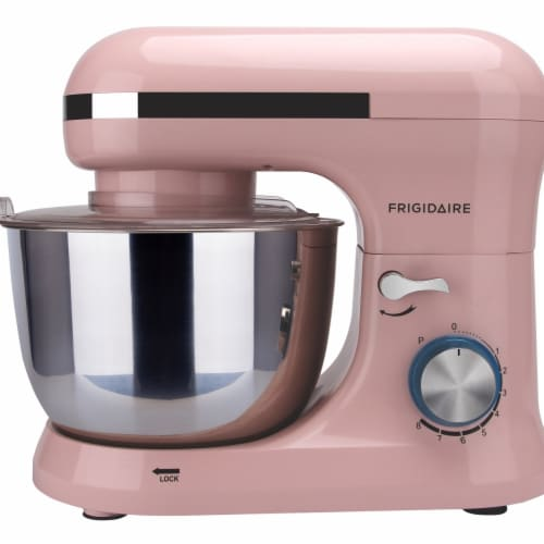 Curtis ESTM020 4.5 Liter Stainless Steel Stand Mixer, Pink Perspective: front