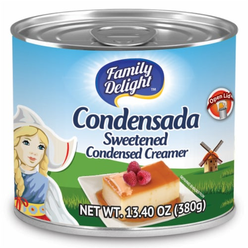 Family Delight Sweetened Condensed Creamer Perspective: front