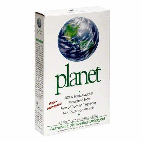Planet Auto Dishwasher Powder Detergent Perspective: front