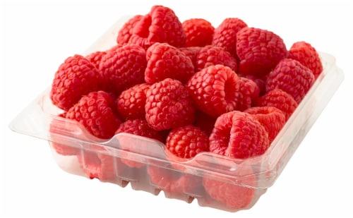 Organic - Berries - Raspberries - Red Perspective: front