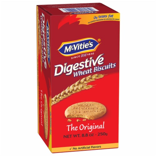 McVitie's Original Digestive Wheat Biscuits Perspective: front